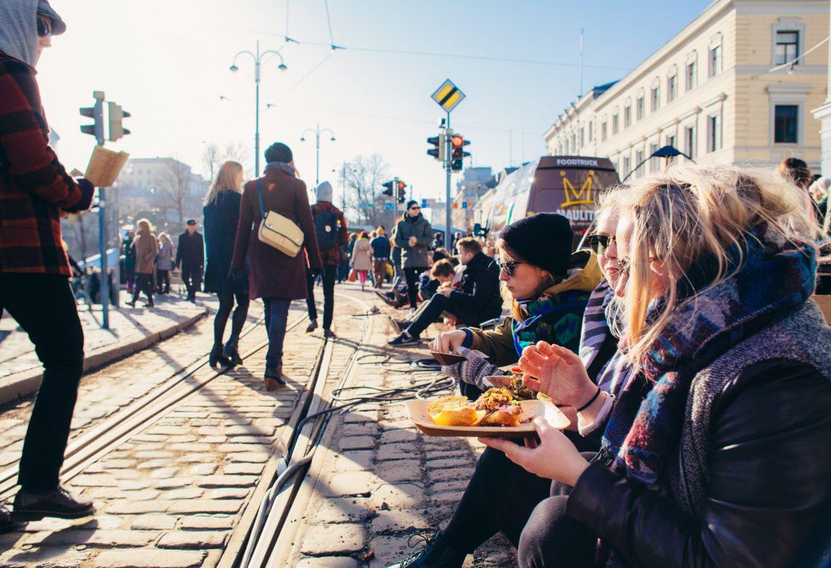 Street Food in Helsinki