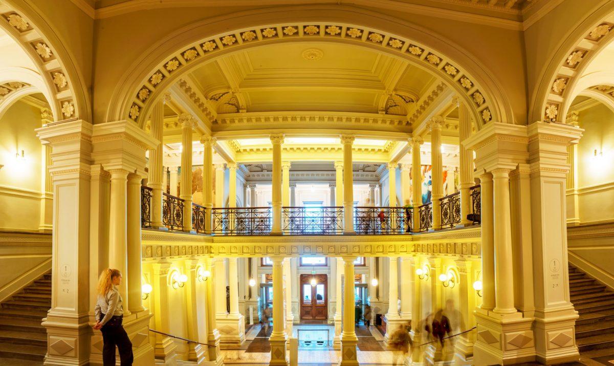 Ateneum museum interior architecture