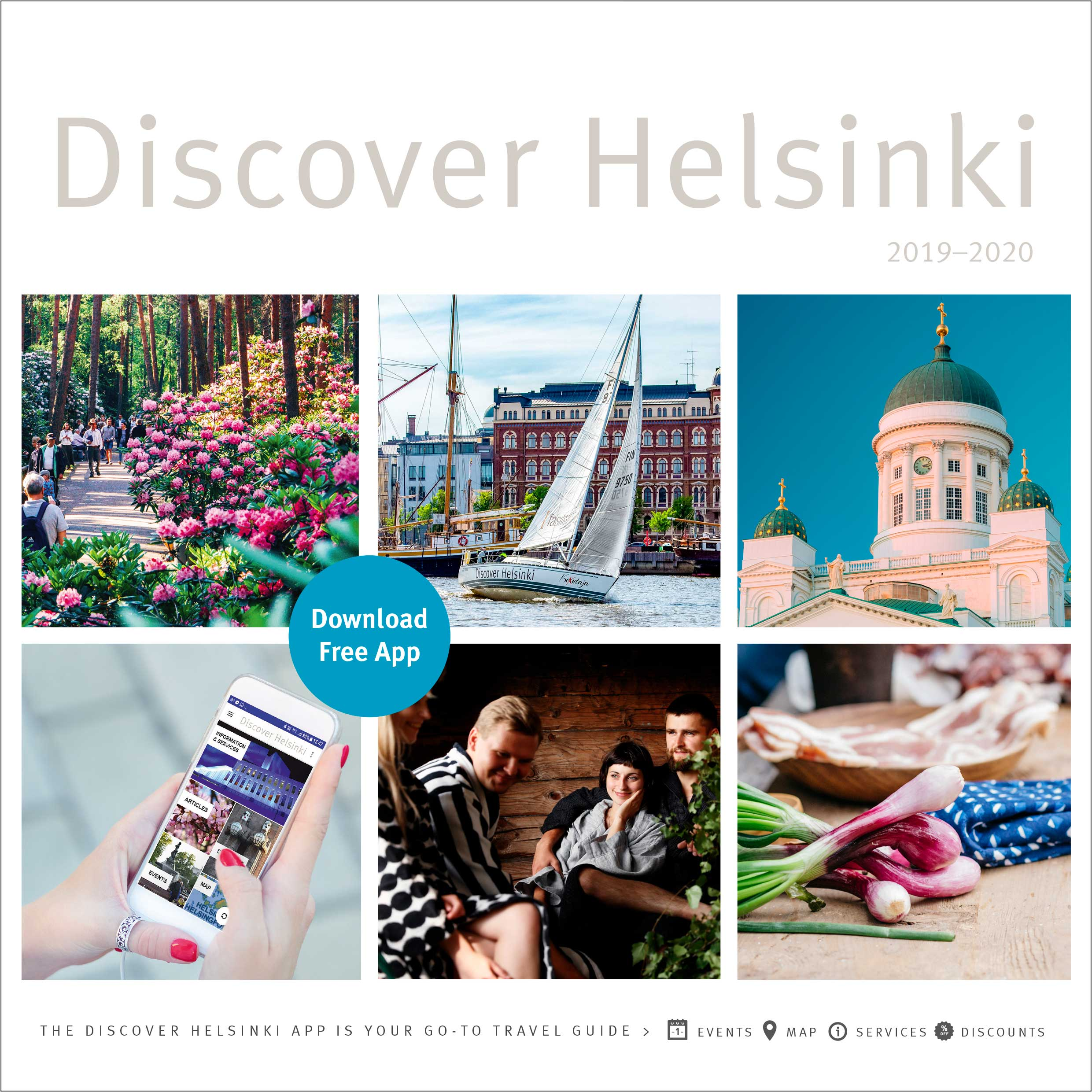 Discover Helsinki - Book cover