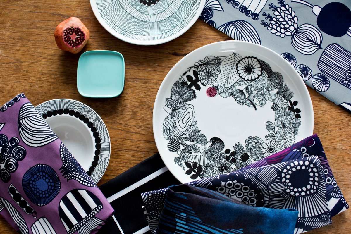 Designs by Marimekko