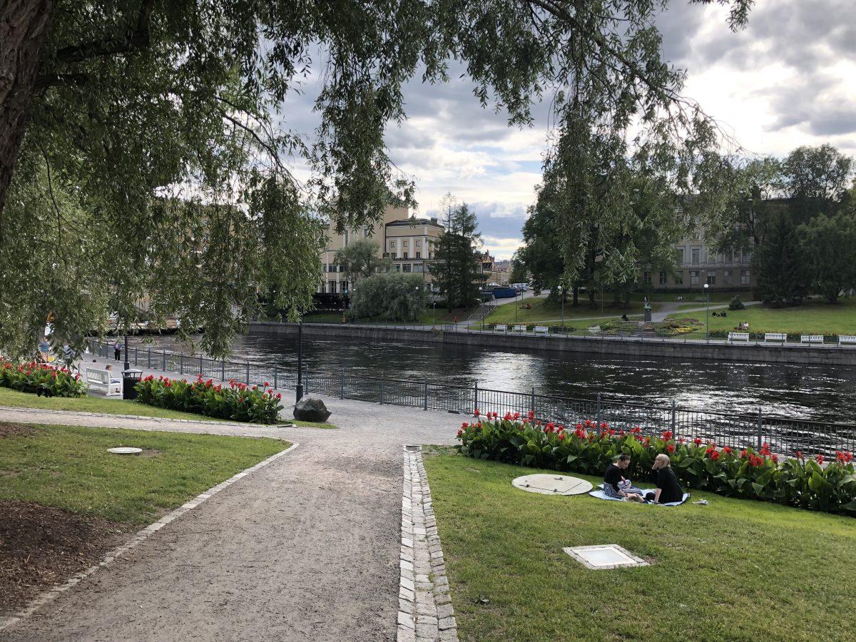 Visit Tampere - Koskipuisto Park