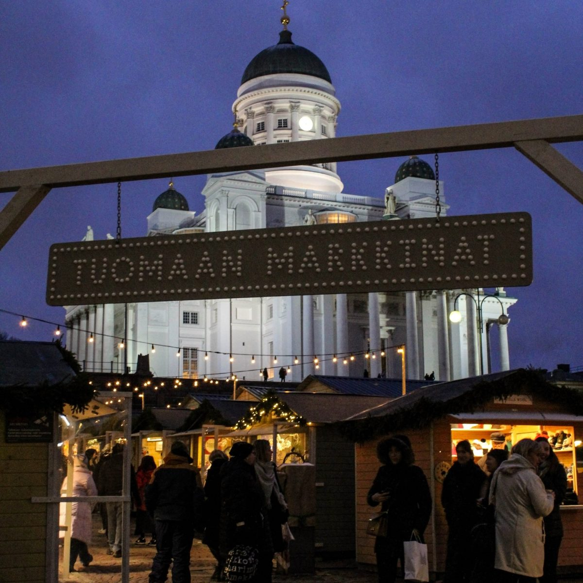 Helsinki Christmas Market entrance