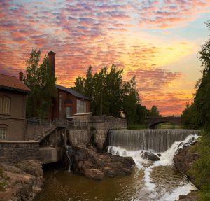 Vanhankaupunginlahti river rapid