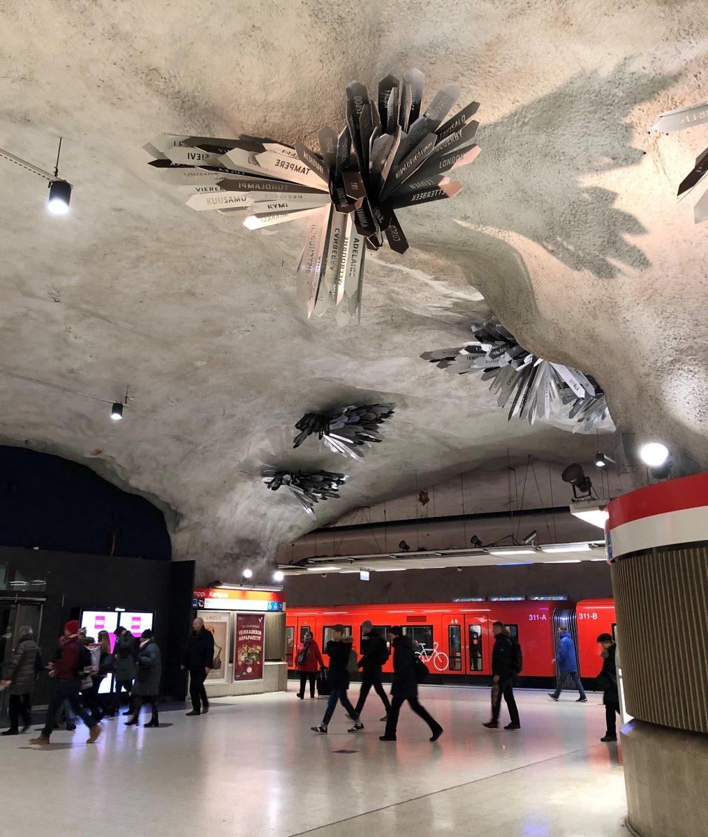 Kamppi metro station, Helsinki