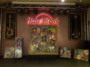 Andy and Angela McCoy Art Extravaganza at Hard Rock Cafe