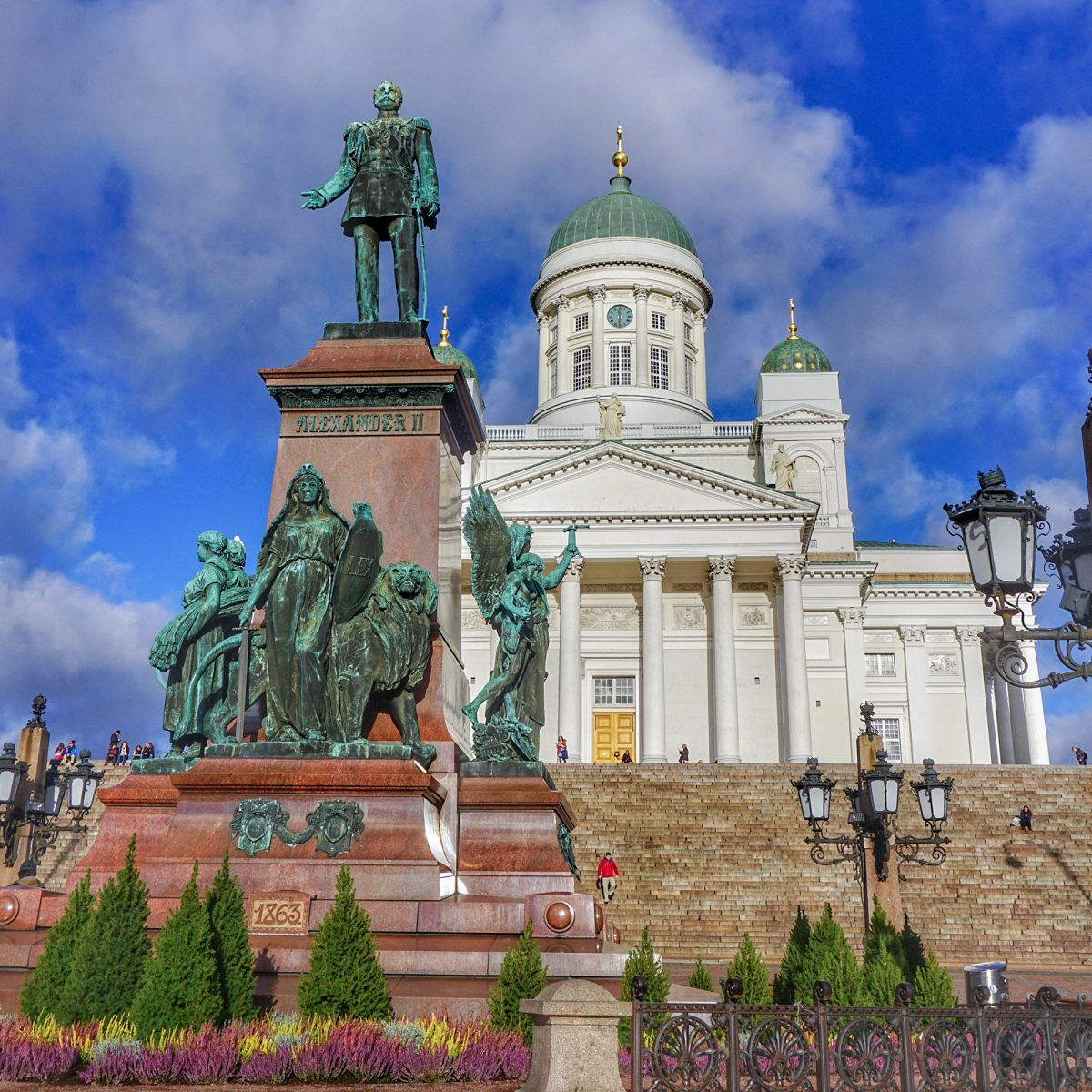 Statue of Alexander II at Senate Square