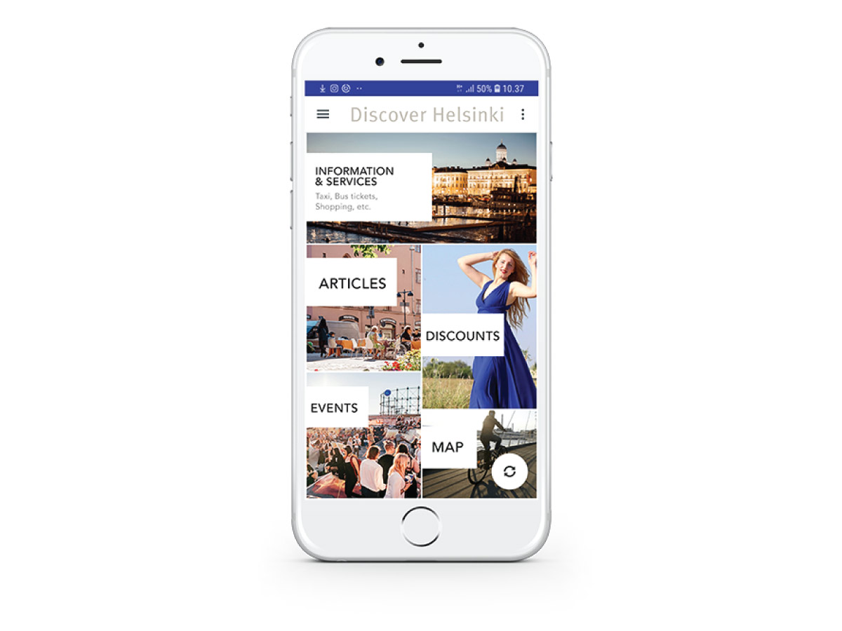 Discover Helsinki App