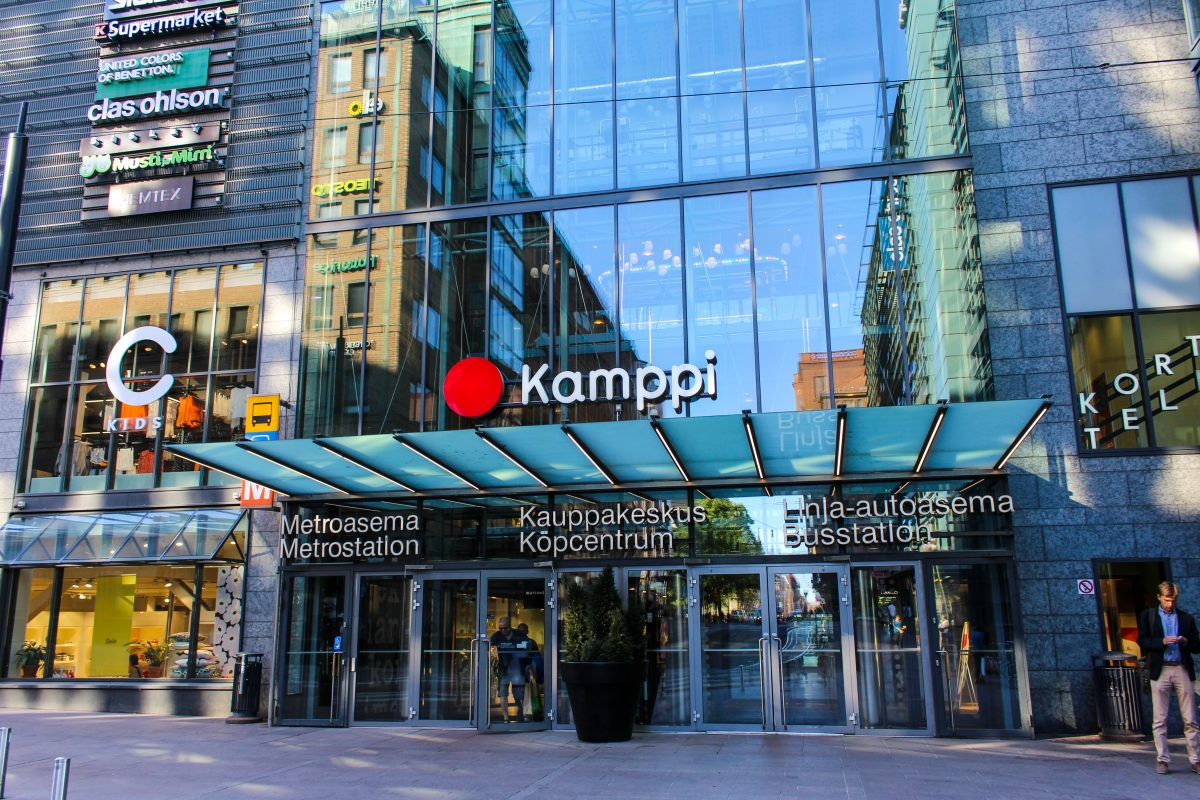 Southern entrance to Kamppi Centre
