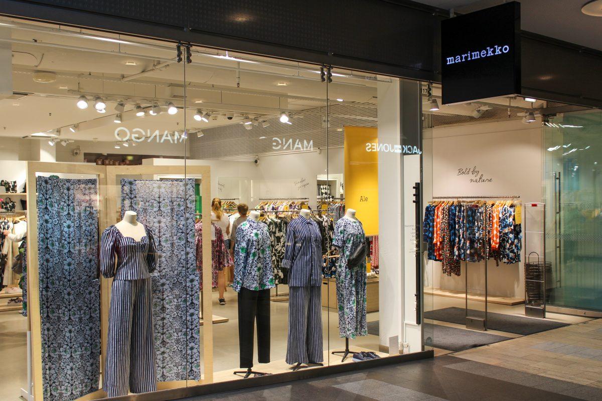 designer shop helsinki shopping centre