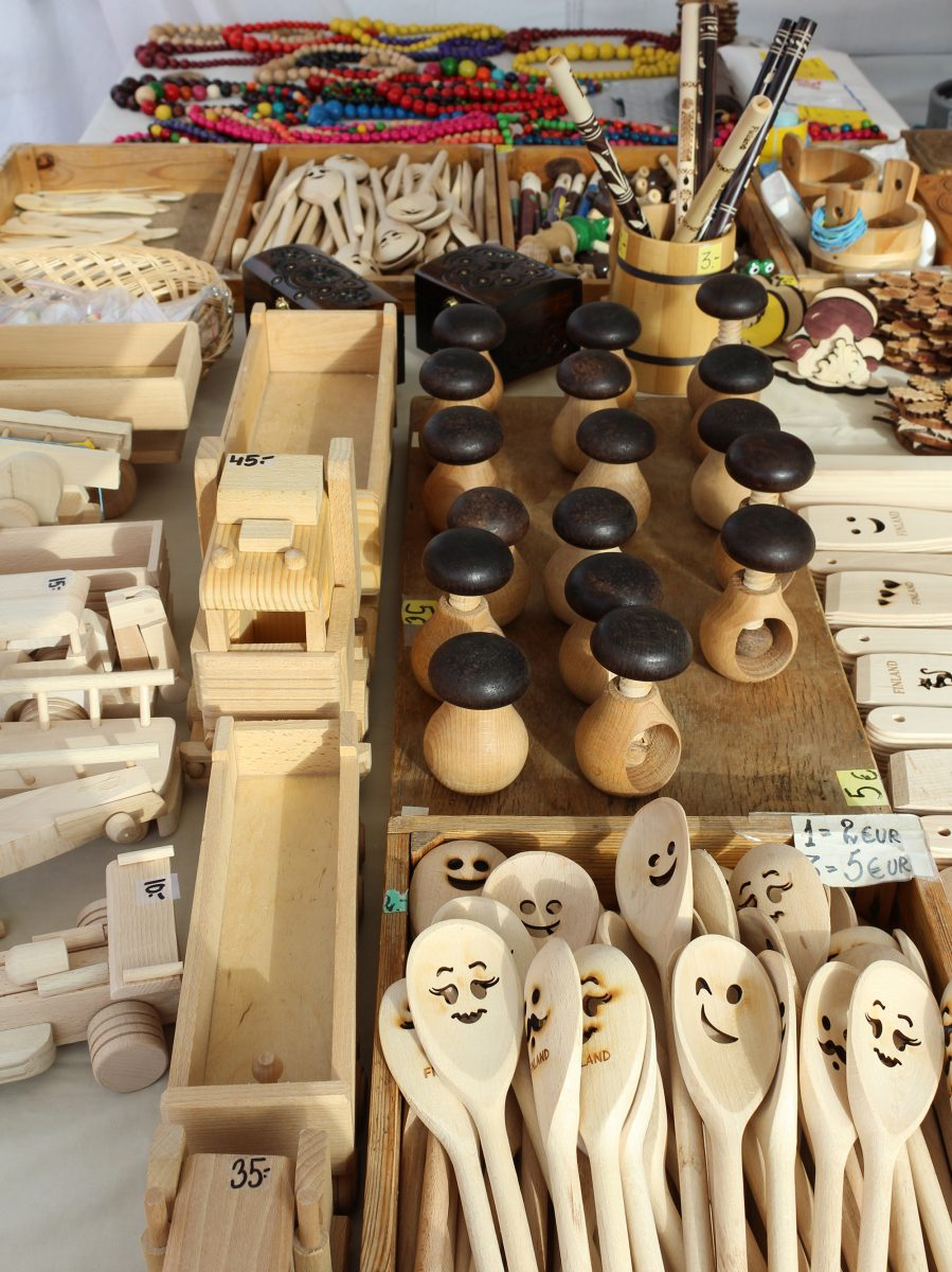baltic herring market handicrafts