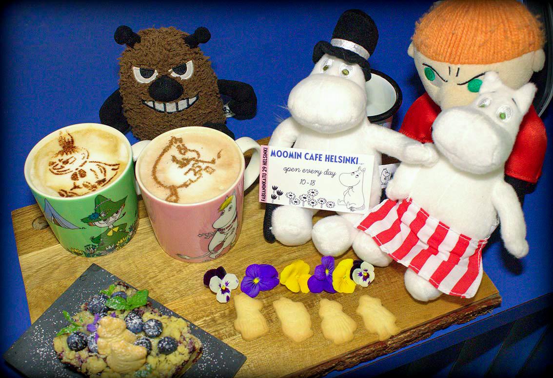 Moomin Characters & Treats at the Moomin Cafe