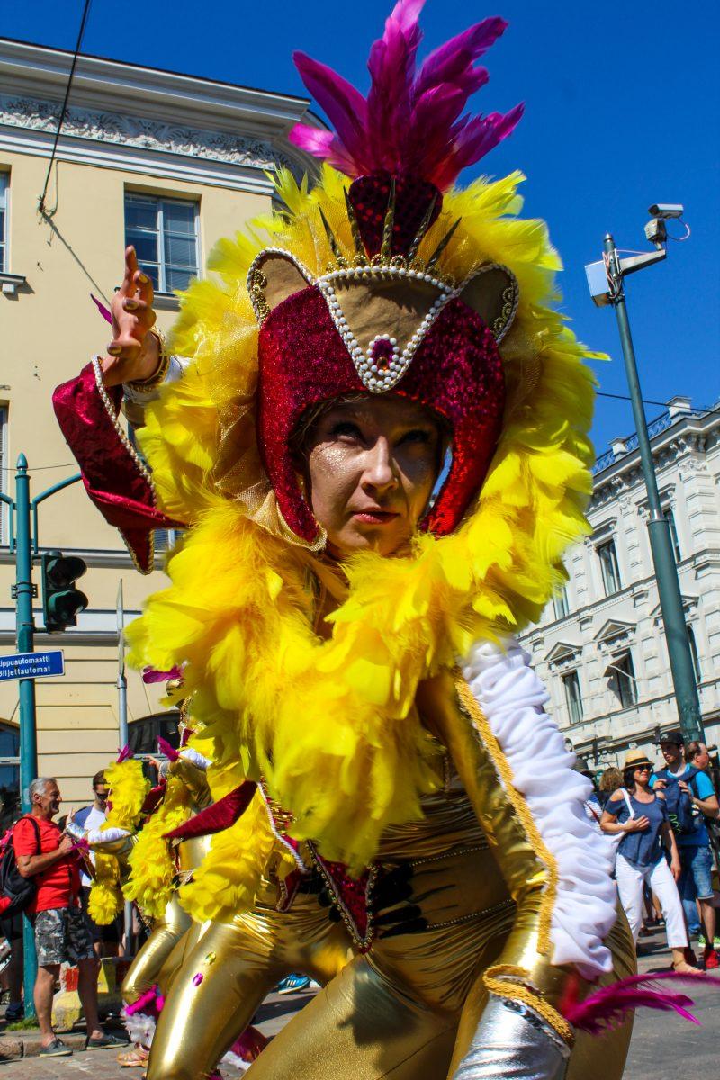 helsinki samba carnaval performer