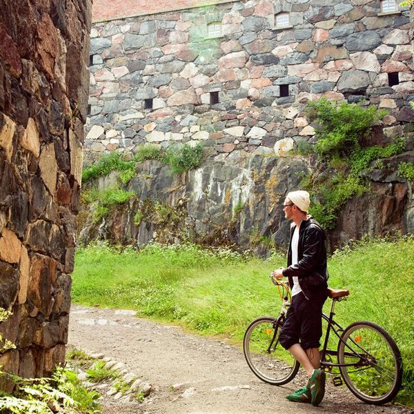 Suomenlinna pathways