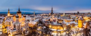 tallinn old town Estonia